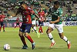 Deportivo Cali igualó como local 2-2 ante Independiente Medellín (2-2, en el global). Medelln avanzó por penales. Semifinal Copa Águila 2017.