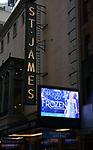 """""""Frozen"""" 2019 Theatre Marquee"""