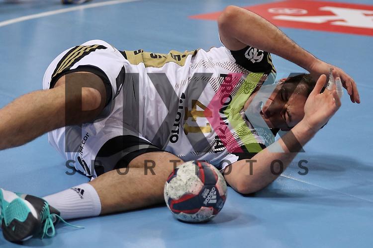 Kiel, 15.02.15, Sport, Handball, Champions League, Gruppenphase, THW Kiel - HC Metalurg Skopje : Marko Vujin (THW Kiel, #41)<br /> <br /> Foto &copy; P-I-X.org *** Foto ist honorarpflichtig! *** Auf Anfrage in hoeherer Qualitaet/Aufloesung. Belegexemplar erbeten. Veroeffentlichung ausschliesslich fuer journalistisch-publizistische Zwecke. For editorial use only.
