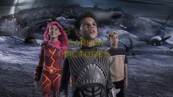 TAYLOR DOOLEY, TAYLOR LAUTNER & CAYDEN BOYD.in Adventures of Shark Boy & Lava Girl.*Editorial Use Only*.www.capitalpictures.com.sales@capitalpictures.com.Supplied by Capital Pictures.