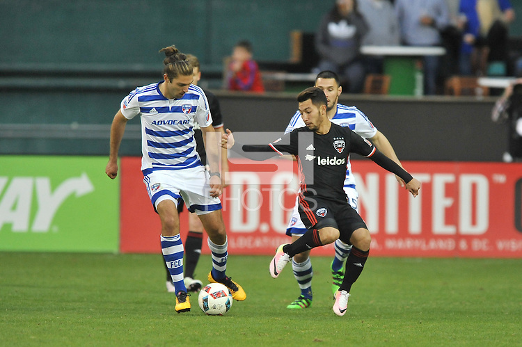 Washington, D.C. - March 26, 2016: FC Dallas defeated D.C. United 3-0 during their Major League Soccer (MLS) match at RFK Stadium.