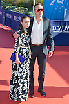 arrives at the 'Mr Holmes' Premiere red carpet during the 41st Deauville American Film Festival on September 10, 2015 in Deauville, France