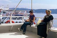 Türkei, Bosporusfähre in Besiktas in Istanbul