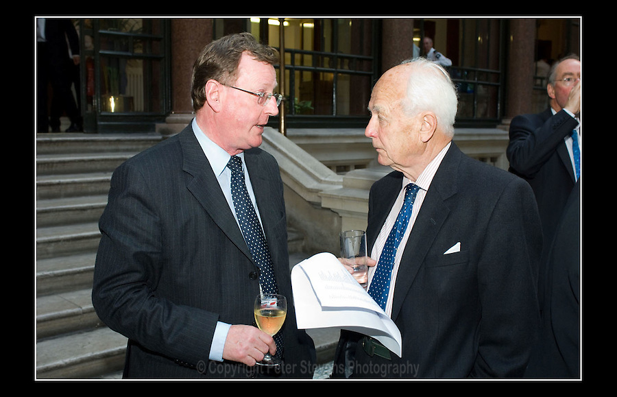 David Trimble PC (L) former leader of the UUP 1995-2005 - British Property Federation - Foreign & Commonwealth Office - King Charles Street - London - 12th June 2007