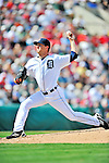 9 March 2012: Detroit Tigers pitcher Adam Wilk on the mound during a Spring Training game against the Philadelphia Phillies at Joker Marchant Stadium in Lakeland, Florida. The Phillies defeated the Tigers 7-5 in Grapefruit League action. Mandatory Credit: Ed Wolfstein Photo