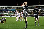 Blues players left dejected after a heavy defeat at the hands of Ulster..RaboDirect Pro12.Cardiff Blues v Ulster Rugby.Cardiff Arms Park.28.09.12.©Steve Pope
