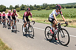 The peloton including White Jersey Ivan Sosa (COL) Team Ineos during Stage 4 of the Route d'Occitanie 2019, running 154.8km from Gers - Astarac Arros en Gascogne to Clermont-Pouyguillès, France. 23rd June 2019<br /> Picture: Colin Flockton | Cyclefile<br /> All photos usage must carry mandatory copyright credit (© Cyclefile | Colin Flockton)