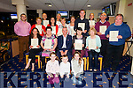 Presenting Certificates to all the volunteers who work so hard running the Chamber Alliance Tourist Kiosk on their night out at the Kingdom Greyhound Stadium on Friday night.