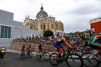 Santa Maria la Real de La Almudena Cathedral during the 2017 Madrid ITU Triathlon World Cup in Madrid, May 28, 2017. Spain.. (ALTERPHOTOS/Rodrigo Jimenez) /NortePhoto.com