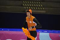 SCHAATSEN: HEERENVEEN: 31-01-2014,  IJsstadion Thialf, Training Topsport, Ronald Mulder, ©foto Martin de Jong