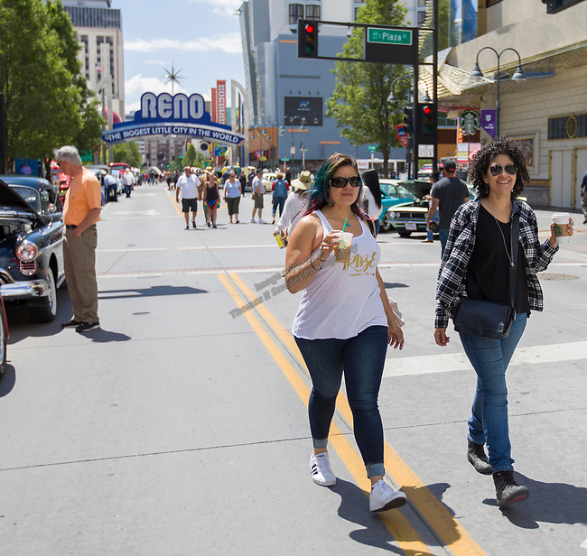 A photograph from Hot August Nights Spring Fever in downtown Reno, Nevada on Friday, May 18, 2018.