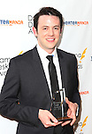 Nick Westrate.in the winners press room at the 57th Annual Drama Desk Awards held at the The Town Hall in New York City, NY on June 3, 2012.