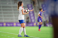Orlando, FL - Saturday June 03, 2017: Brooke Elby during a regular season National Women's Soccer League (NWSL) match between the Orlando Pride and the Boston Breakers at Orlando City Stadium.