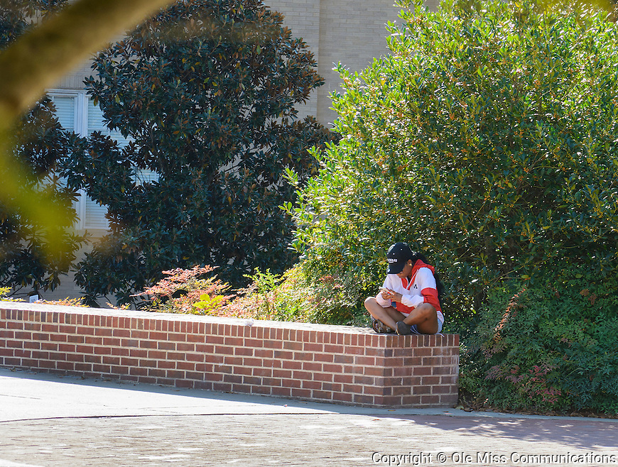 Campus Scenes October 19, 2016. Photo by Marlee Crawford/Ole Miss Communications