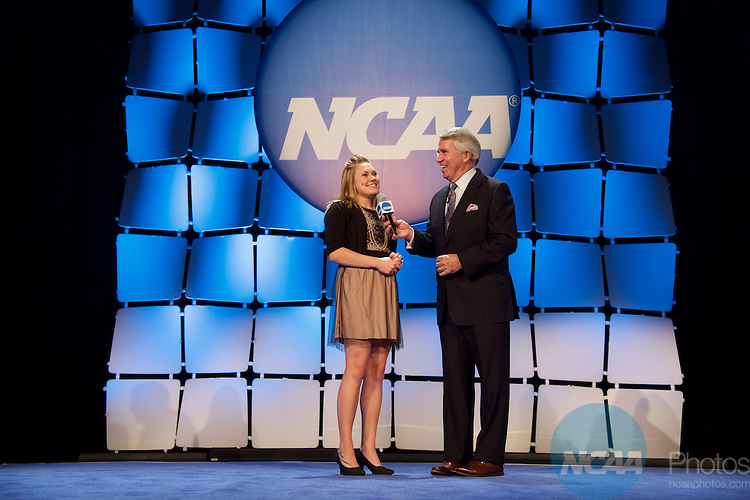 15 JAN 2016:  The NCAA Honor's Celebration takes place during the 2016 NCAA Convention at the Grand Hyatt San Antonio in San Antonio, TX.   Jamie Schwaberow/NCAA Photos  (Pictured:  Kristin Day)