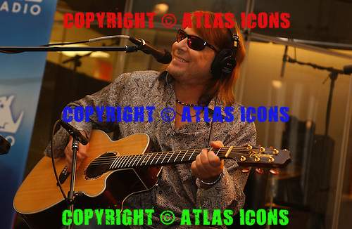 Don Dokken; Dokken; At Sirius Satelite Radio: 2005; New York;<br /> Photo Credit: Eddie Malluk/Atlas Icons.com