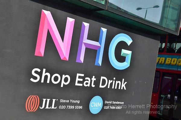NHG Shop Eat Drink, Notting Hill, London, UK.