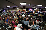Republican Vice Presidential candidate Mike Pence speaks to a crowd of about 400 people in Carson City, Nev., on Monday, Aug. 1, 2016. Cathleen Allison/Las Vegas Review Journal