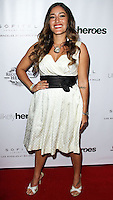 LOS ANGELES, CA, USA - NOVEMBER 08: Q'orianka Kilcher arrives at the Unlikely Heroes' 3rd Annual Awards Dinner And Gala held at the Sofitel Hotel on November 8, 2014 in Los Angeles, California, United States. (Photo by Celebrity Monitor)