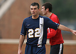 02 December 2007: West Virginia's Pat Carroll. The Wake Forest University Demon Deacons defeated the West Virginia University Mountaineers 3-1 at W. Dennie Spry Soccer Stadium in Winston-Salem, North Carolina in a Third Round NCAA Division I Mens Soccer Tournament game.