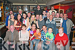 Regina Dennehy,Balloonagh Est,Tralee(seated centre)celebrated her 30th birthday last Friday night in Linnane's bar,Rock St,Tralee along with her  kids Jake&Tristan,partner Danny Keating and many friends&family.