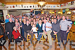 Enjoying a surprise 70th birthday party was Mike Fitzgerald from Farnamiller, Tarbert, pictured here with many family and friends last Saturday night in The Lantern's Hotel, Tarbert.