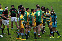 Action from the Auckland premier club rugby match between Mount Wellington and Waitemata at Hamlin Park in Auckland, New Zealand on Saturday, 8 July 2017. Photo: Dave Lintott / lintottphoto.co.nz