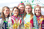 Ann Ivory, Aine O'Leary, Naomi Connell, Marie O'Mahony and Aoife O'Mahony enjoying the Killarney St Patricks Day parade on Monday   Copyright Kerry's Eye 2008