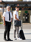 22.06.2019 rangers arrive in Portugal:  Steven Gerrard