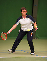 August 22, 2014, Netherlands, Amstelveen, De Kegel, National Veterans Championships, Annelies Siemons<br /> Photo: Tennisimages/Henk Koster
