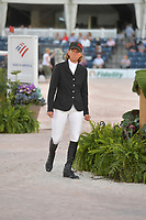WELLINGTION, FL - MARCH 09: SATURDAY NIGHT LIGHTS: Beezie Madden participates The highlight event of week 9 at the 2019 Winter Equestrian Festival, the $391,000 Douglas Elliman Real Estate Grand Prix CSI 5*. The Winter Equestrian Festival (WEF) is the largest, longest running hunter/jumper equestrian event in the world held at the Palm Beach International Equestrian Center on March 09, 2019  in Wellington, Florida.<br /> CAP/MPI122<br /> &copy;MPI122/Capital Pictures