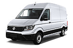 2017 Volkswagen Crafter Base 4 Door Cargo Van angular front stock photos of front three quarter view