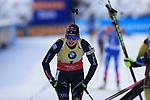 15/12/2019, Hochfilzen, Austria. Biathlon World Cup IBU 2019 Hochfilzen.<br /> Women 12.5 km pursuit race, Dorothea Wierer (ITA)