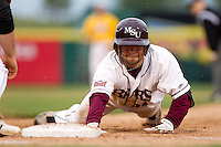 Aaron Conway (11) of the Missouri State Bears during a game vs. the Western Illinois Leathernecks at Hammons Field in Springfield, Missouri;  March 19, 2011.  Photo By David Welker/Four Seam Images