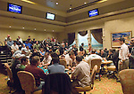 Borgata poker room tournament area.