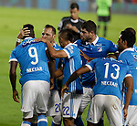 Millonarios venció 5-1 a Deportivo Cali. Fecha 20 Liga Águila II-2017.