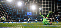 Dries Mertens of Napoli scores a goal penalty<br /> Napoli 10-12-2019 Stadio San Paolo <br /> Football Champions League 2019/2020 Group E<br /> SSC Napoli - KRC Genk<br /> Photo Cesare Purini / Insidefoto