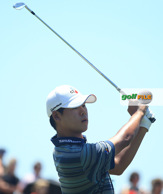 Si Woo Kim (KOR) during the Third Round of The Players, TPC Sawgrass, Ponte Vedra Beach, Jacksonville.   Florida, USA. 14/05/2016.<br /> Picture: Golffile | Mark Davison<br /> <br /> <br /> All photo usage must carry mandatory copyright credit (&copy; Golffile | Mark Davison)