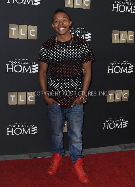 www.acepixs.com<br /> <br /> August 16 2016, New York City<br /> <br /> Allen Maldonado arriving at a screening of 'Too Close To Home' at The Paley Center for Media on August 16, 2016 in Beverly Hills, California.<br /> <br /> By Line: Peter West/ACE Pictures<br /> <br /> <br /> ACE Pictures Inc<br /> Tel: 6467670430<br /> Email: info@acepixs.com<br /> www.acepixs.com