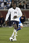 19 November 2008: Jozy Altidore (Villarreal)(14) of the USA.  The United States Men's National Team defeated the visiting Guatemala Men's National Team 2-0 at Dick's Sporting Goods Park in Commerce City, Colorado in a CONCACAF semifinal round FIFA 2010 South Africa World Cup Qualifier.