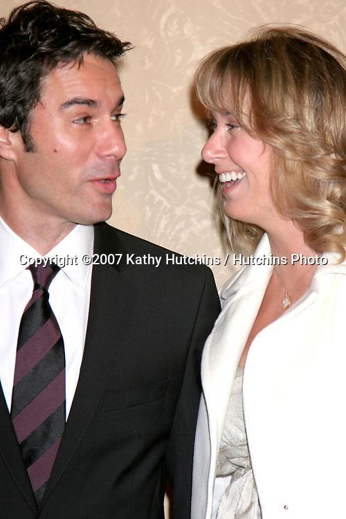 Eric McCormack & wife Janet.Divine Design Gala Awards Dinner 2007.Beverly Hilton Hotel.Beverly Hills, CA.November 29 2007.©2007 Kathy Hutchins / Hutchins Photo...               .