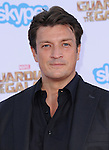 Nathan Fillion<br /> <br /> <br />  attends The Marvel Studios World Premiere GUARDIANS OF THE GALAXY held at The Dolby Theatre in Hollywood, California on July 21,2014                                                                               &copy; 2014Hollywood Press Agency