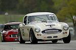 Peter Jackson races his 1964 Austin Healey 3000 at the SVRA Vintage GT Challenge at Road America, 2005