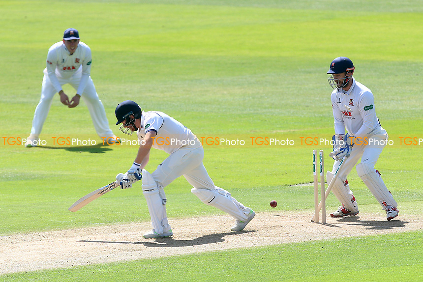 Johnny Bairstow of Yorkshire is bowled out by Sam Cook during Essex CCC vs Yorkshire CCC, Specsavers County Championship Division 1 Cricket at The Cloudfm County Ground on 4th May 2018