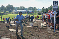 Phil Mickelson (USA) makes his way to 12 during 1st round of the 100th PGA Championship at Bellerive Country Cllub, St. Louis, Missouri. 8/9/2018.<br /> Picture: Golffile | Ken Murray<br /> <br /> All photo usage must carry mandatory copyright credit (© Golffile | Ken Murray)