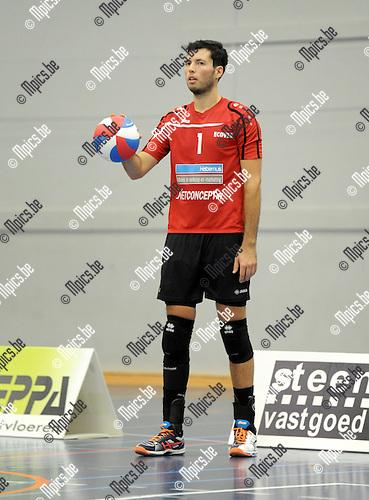 2014-09-20 / Volleybal / seizoen 2014-2015 / VC Zoersel / De Ren Jan<br /><br />Foto: Mpics.be