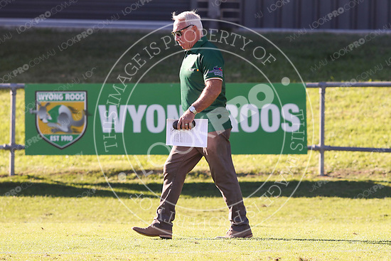 The Wyong Roos play Newcastle Knights in Round 9 of the Intrust Super Premiership at Morry Breen Oval on 5th May, 2018 in Kanwal, NSW Australia. (Photo by Paul Barkley/LookPro)