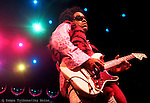 Lenny Kravitz and his band played the Ice Palace in Tampa.