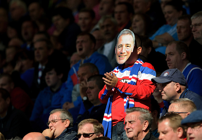 Rangers fans wishing Ally McCoist a happy 49th birthday
