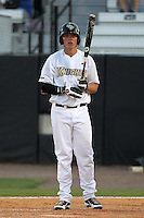 UCF Knights third baseman Nick Carrillo #30 at bat during a game against the Siena Saints at the UCF Baseball Complex on March 3, 2012 in Orlando, Florida.  UCF defeated Siena 6-4.  (Mike Janes/Four Seam Images)